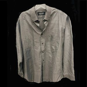 Versace couture mens dress shirt